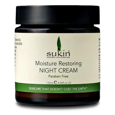 Sukin Moisture Restoring Night Cream, 120gm - Koyara - Health Marketplace Malaysia