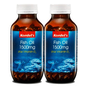 Kordel's, Kordel's Fish Oil 1500mg + Vitamin D3 (120's x 2) - Koyara - Health Marketplace Malaysia