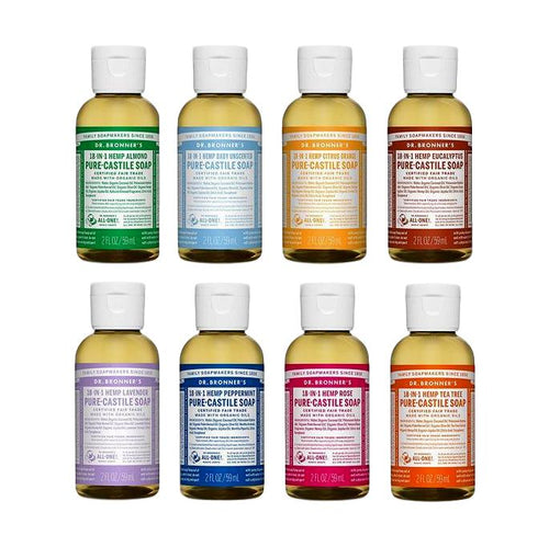 [CHOOSE 2] Dr Bronner's Pure-Castile Liquid Soap (59ml)