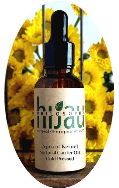 Hijau Philosophy Apricot Kernel Virgin Carrier Oil (Cold Pressed) - Koyara - Health Marketplace Malaysia
