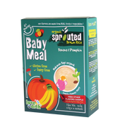 Love Earth, ORGANIC BABY MEAL BANANA, PUMPKIN & QUINOA (6+3 Sachet 180G)