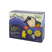 Love Earth, Organic Baby Noodles Carrot, Sweet Potato & Spanich 180G (30G X 6 Serving)