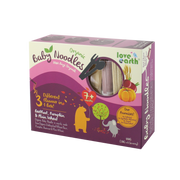 Love Earth, Organic Baby Noodles Beetroot, Pumpkin & Plan Wheat 180G (30G X 6 Serving)