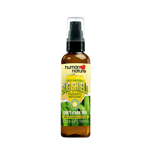 Human Nature Shield Insect Repellents - Soybean free Bug Shield Oil (G6PD-Friendly)