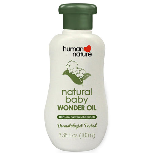 Human Nature All Natural Baby Oil