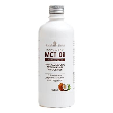 Rainforest Herbs Coconut Source MCT Oil 500ml - Koyara - Health Marketplace Malaysia