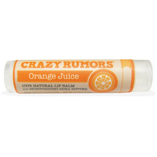 Crazy Rumors Natural Lip Balm with Moisturizing Shea Butter Orange Juice - Koyara - Health Marketplace Malaysia