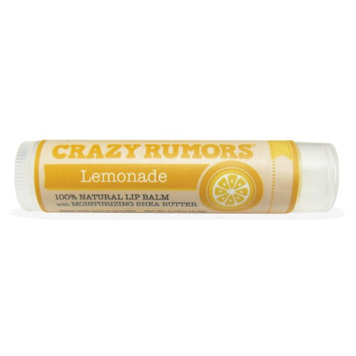 Crazy Rumors Natural Lip Balm with Moisturizing Shea Butter Lemonade- Koyara