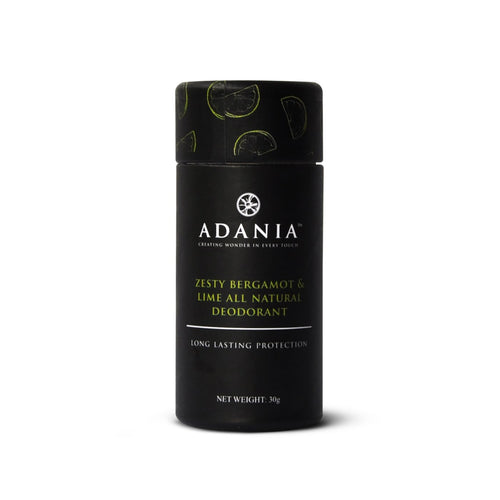 Adania, Bergamot & Lime All Natural Deodorant (38gm)- Koyara