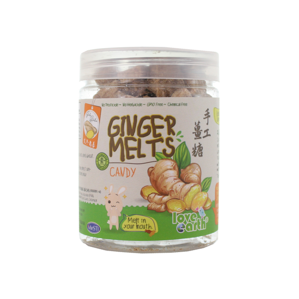 Love Earth, Ginger Melt Candy 110g - Koyara - Health Marketplace Malaysia