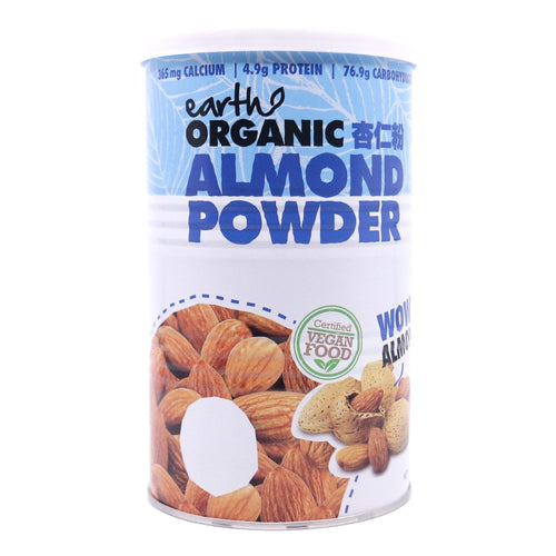 Earth Living Organic Almond Powder, 500g- Koyara