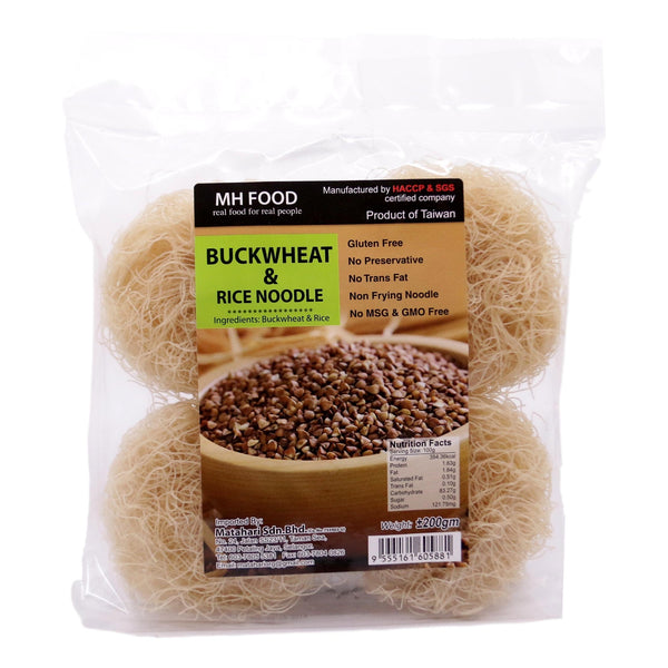 MH Food Buckwheat & Rice Noodle (200g) - Koyara - Health Marketplace Malaysia