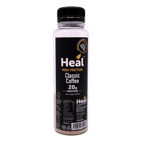 Heal Nutrition, High Protein Classic Coffee (350ml / 36g)