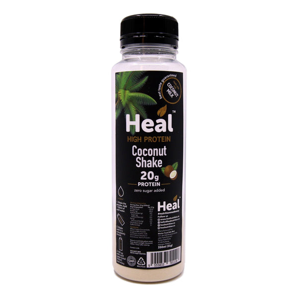 Heal Nutrition, High Protein Coconut Shake (350ml / 31g)