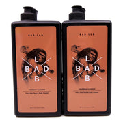 BadLab Caveman Cleaner 3-in-1 Hair Face Body Shampoo Twin Pack (400ml x 2)