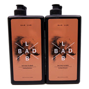 BadLab Too Cold to Bear Cooling Shampoo Twin Pack (400ml x 2)