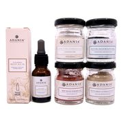 Adania, Luxurious Organic Face Oil (15ml) + Clay Mask Travel Size (15-45g)