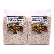 Yoji Organic White Kidney Bean Twin Pack (500g x 2) - Koyara - Health Marketplace Malaysia