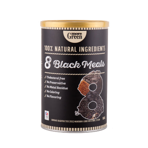MoreGreen, 8 Black Meals (500g) - Koyara - Health Marketplace Malaysia
