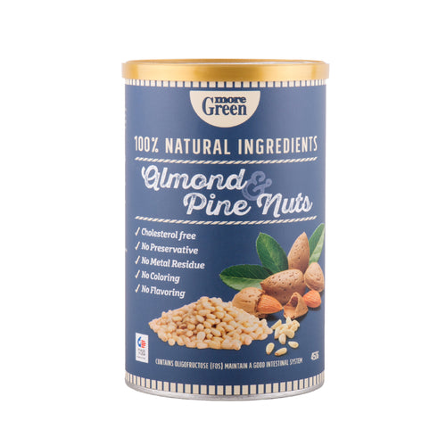 MoreGreen, Almond & Pine Nuts (450g) - Koyara - Health Marketplace Malaysia