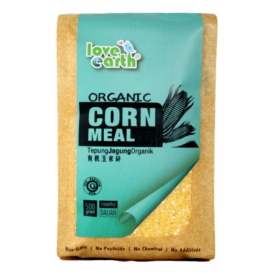 Love Earth, Organic Corn Meal 500g