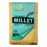 Love Earth, Organic Hulled Millet 530g - Koyara - Health Marketplace Malaysia