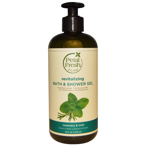 Petal Fresh, Energizing Bath & Shower Gel - Rosemary & Mint, 475ml - Koyara - Health Marketplace Malaysia
