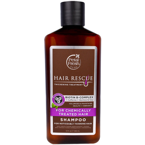 Petal Fresh, Hair Rescue Thickening Treatment Shampoo, Colour Protection (355 ml) - Koyara - Health Marketplace Malaysia
