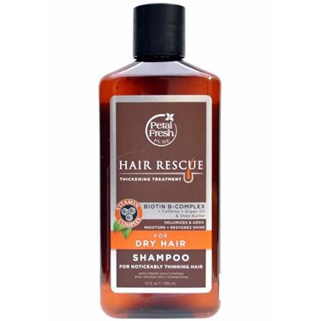 Petal Fresh, Hair Rescue Thickening Treatment Shampoo for Dry Hair, 355ml - Koyara - Health Marketplace Malaysia