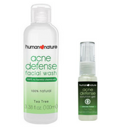 Human Nature Acne Defense Face Wash + Human Nature Acne Defense Gel (SAVE 10%)