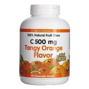 Natural Factors, C 500MG TANGY ORANGE FLAVOUR (30s)