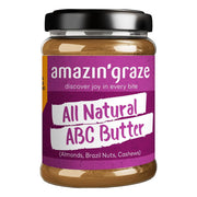 Amazin' Graze, ABC Butter (Almond, Brazil Nuts, Cashews), 180g