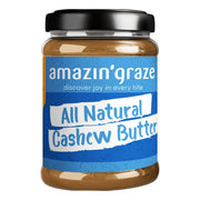Amazin' Graze, All Natural Cashew Butter, 180g