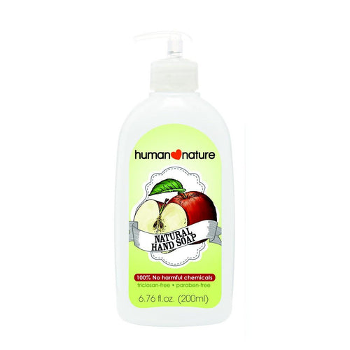 Human Nature Natural Hand Soap - Refreshing Apple