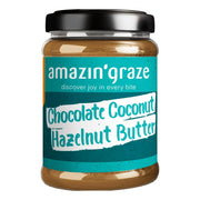 Amazin' Graze, Chocolate Coconut Hazelnut Butter, 180g