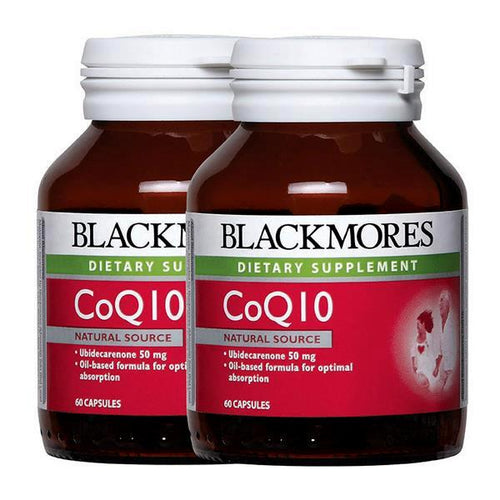 Blackmores, CoQ10 50mg (60's x 2)