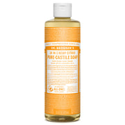 Dr Bronner's Pure-Castile Liquid Soap - Citrus Orange- Koyara
