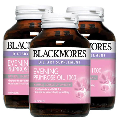 Blackmores, Evening Primrose Oil 1000mg (100's x 3)