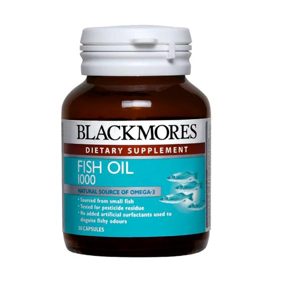 Blackmores, Fish Oil 1000mg (30's / 120's / 400's)