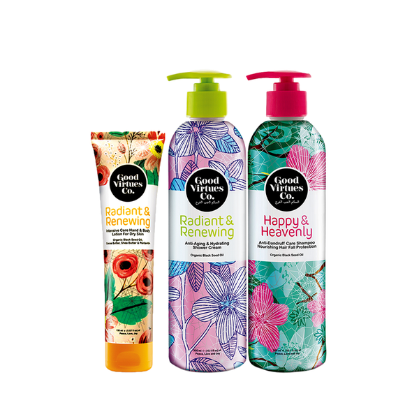Good Virtues Co Hair & Body Care Set - Koyara - Health Marketplace Malaysia