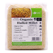 Lohas, Organic Hulled/Sweet Millet, 500g  (CLEARANCE)