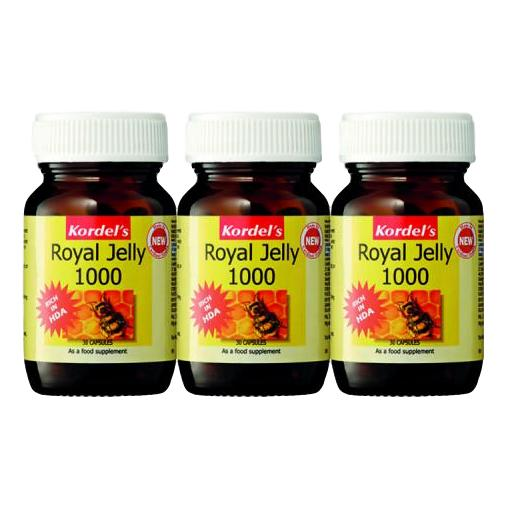 Kordel's, Royal Jelly 1000mg (30s x 3) - Koyara - Health Marketplace Malaysia