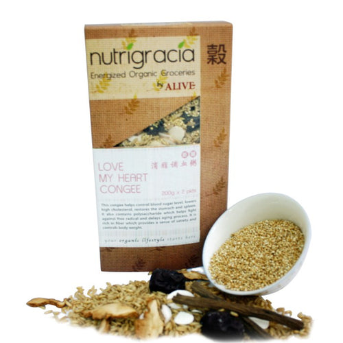 Nutrigracia, Love My Heart Congee, 400g