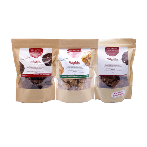 [CHOOSE 2] Milkybites by Babyjumi Lactation Cookies, 250g