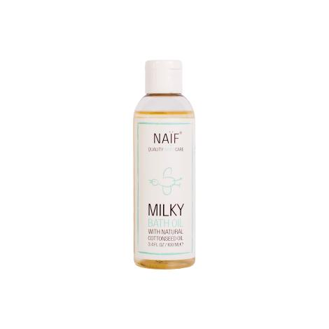 Naif, Milky Bath Oil (100 ml)