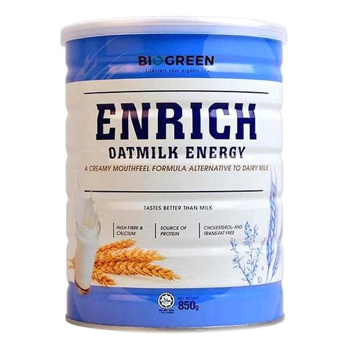Biogreen Enrich Oatmilk Energy, 850g