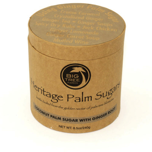 Big Tree Farms, Heritage Palm Sugar-Ginger (240 g)- Koyara