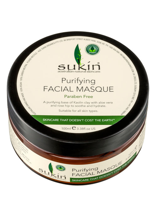 Sukin Purifying Facial Masque, 100ml - Koyara - Health Marketplace Malaysia