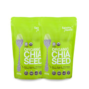 Spoon Health, Organic Chia Seed Twin Pack (450 g x 2)