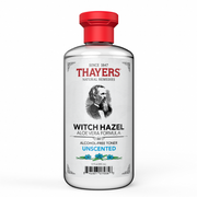 THAYERS, ALCOHOL-FREE UNSCENTED WITCH HAZEL WITH ALOE VERA TONER (355ML)